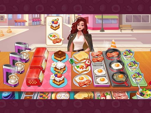 Breakfast Story: chef restaurant cooking games apkslow screenshots 12