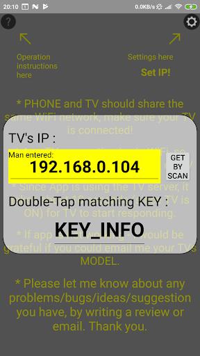 Remote SAMSUNG TV(until 2015)WiFi Simple No button  Screenshots 2