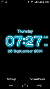 Neon Digital Clock Live For Pc – Free Download On Windows 10, 8, 7 4