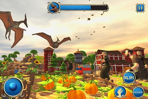 Wild Dino City Rampage: T-Rex Simulator apkmr screenshots 11