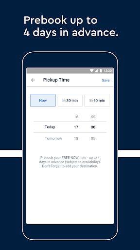 FREE NOW (mytaxi) - Taxi Booking App 10.22.1 screenshots 7
