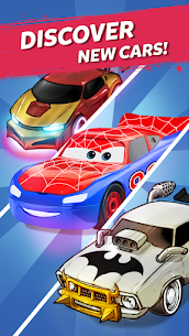 Merge Neon Car  Car Merger Apk Download 2021 5
