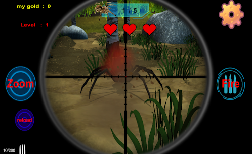 spiders hunting .Hunter & Shooter 3D Hunting Games Hack for iOS and Android 2