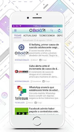 QBolá?! - Cuba News  screenshots 2