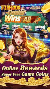 Fish Box - Casino Slots Poker & Fishing Games screenshots 6