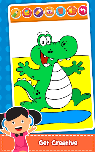 Coloring Games : PreSchool Coloring Book for kids apktreat screenshots 2