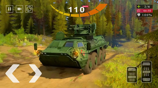 Army Tank Simulator 2020 - Offroad Tank Game 2020  screenshots 15