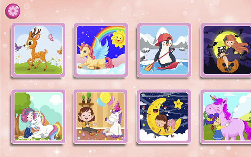 kids puzzles game for girls & boys screenshot 3