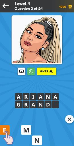 Quiz: Guess the Celeb 2021, Celebrities Game 1.0.6 screenshots 2