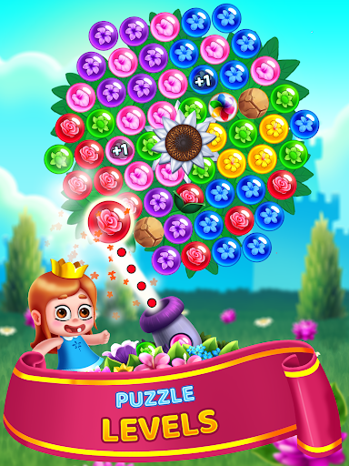 Flower Games - Bubble Shooter 4.2 screenshots 20
