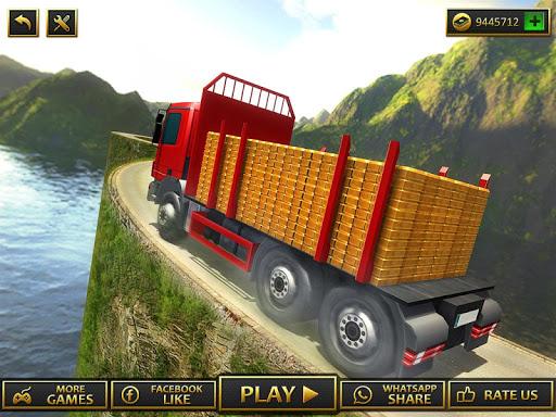 Uphill Gold Transporter Truck Drive apkdebit screenshots 9
