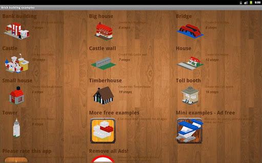 Brick building examples screenshots 7