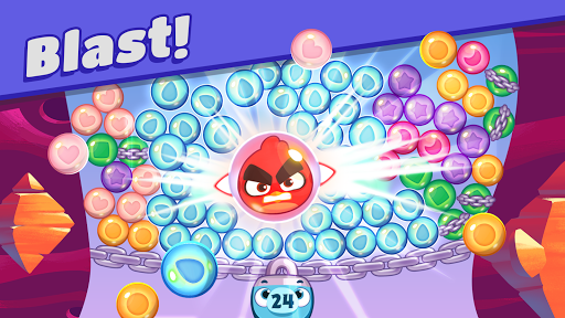 Angry Birds Dream Blast - Bird Bubble Puzzle  screenshots 1