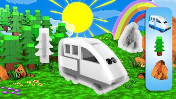 Happy Train Jigsaw Puzzle: Train games