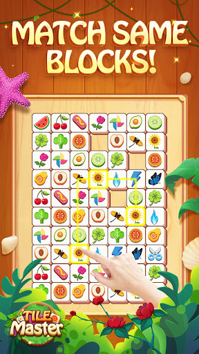 Tile Master - Classic Triple Match & Puzzle Game screenshots 1