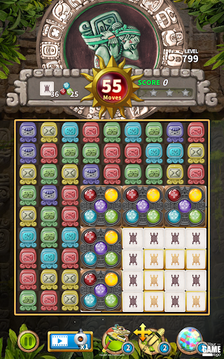 Glyph of Maya - Match 3 Puzzle  screenshots 13