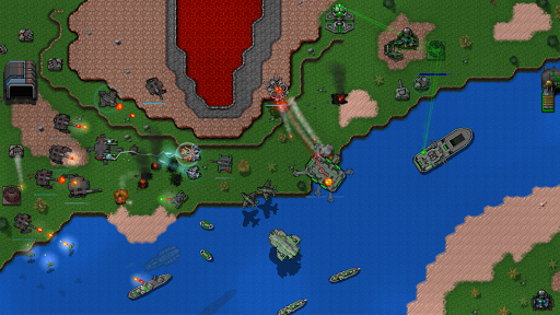 Rusted Warfare - Demo 1.13.3(b) Screenshots 8