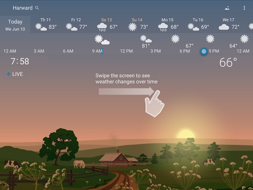 YoWindow - best weather app with live pictures 2.23.7 Screenshots 9
