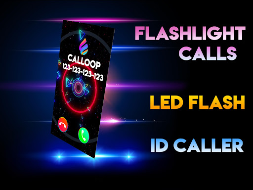 Color Screen Phone, Call Flash Themes - Calloop 3.4 Screenshots 5