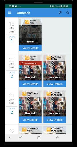 QS Outreach  Screenshots 1