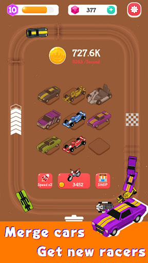 Merge Car Racer - Idle Rally Empire  screenshots 13