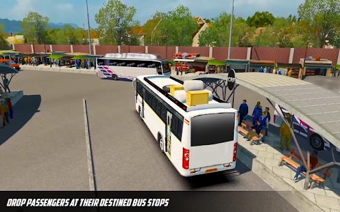 Bus Simulator: Hill Coach Driving Bus Sim Unlimited Money
