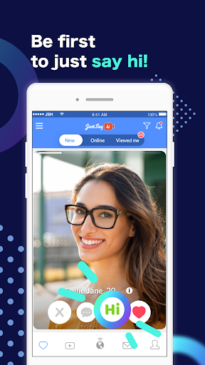 Just Say Hi Online Dating App. Chat & Meet Singles 6.5.0 Screenshots 3