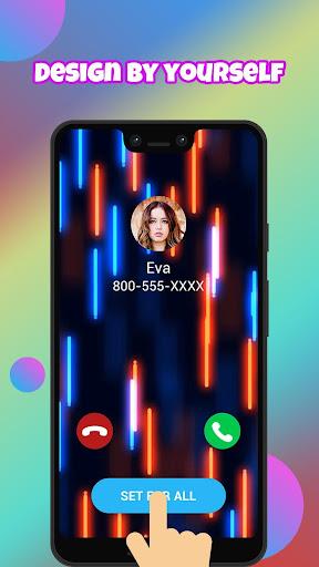 Call Screen Themes, Color Call Flash - Blingcall android2mod screenshots 4