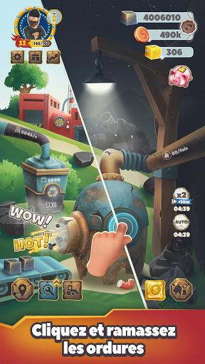 Télécharger Gratuit Trash Tycoon - Le magnat des déchets : clicker APK MOD (Astuce) screenshots 1
