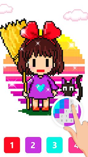 Pix123 - Color by Number, Pixel Art Relaxing Paint 2.4.8 screenshots 1