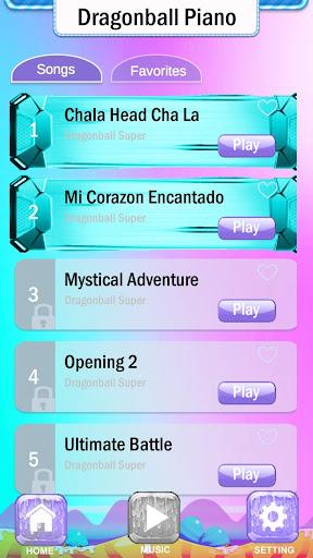 Magic Dragon Ball Super Piano Tiles  Screenshots 3