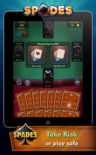 Spades - Offline Free Card Games android2mod screenshots 17