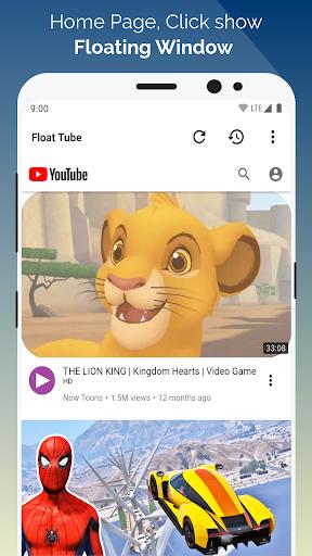 Float Tube-Few Ads, Floating Player, Tube Floating  Screenshots 1