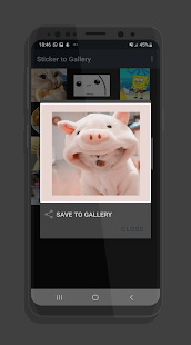 Save WAStickers to Gallery