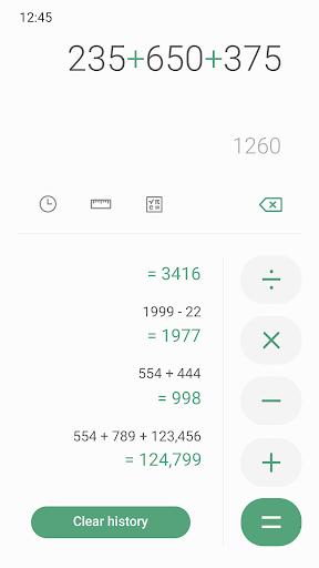 Download Samsung Calculator mod apk