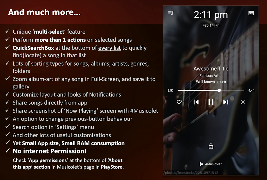 Musicolet Music Player [No ads]  poster 15