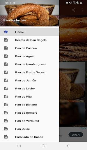 Pan Casero Recetas Fáciles  screenshots 1
