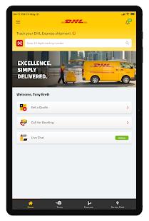 DHL Express Mobile 2.6.0 Screenshots 7