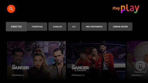 RTVE Play Android TV  screenshots 1