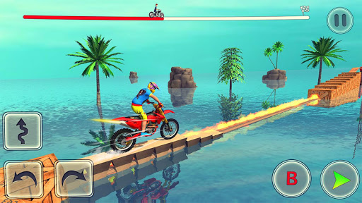 Bike Stunt Race 3d Bike Racing Games - Free Games apkpoly screenshots 5