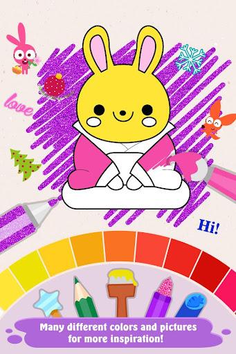 Code Triche Purple Pink Coloring Fun (Astuce) APK MOD screenshots 1