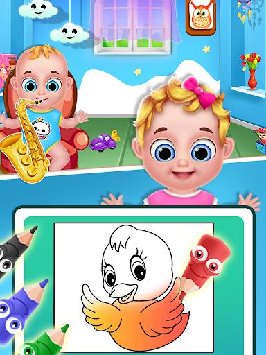 Mom & newborn babyshower - Babysitter Game  screenshots 5