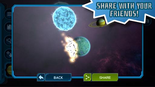Pocket Galaxy - 3D Gravity Sandbox Space Game Free  Screenshots 5