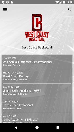 best coast basketball screenshot 1