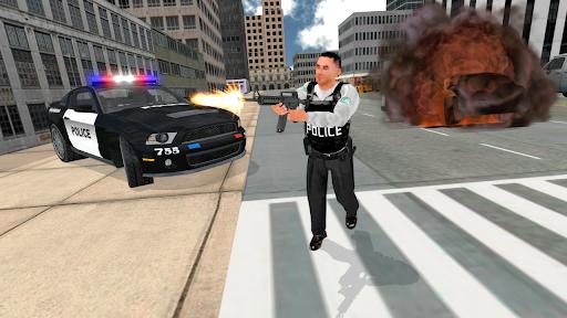 Cop Duty Police Car Simulator android2mod screenshots 7