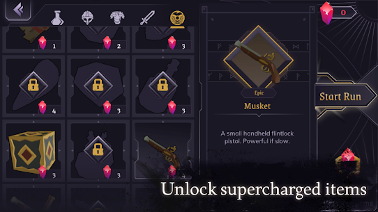 Dread Rune: Roguelike Dungeon Crawler Mod Apk 0.44.7 (God Mode + Unlimited Diamonds) 7
