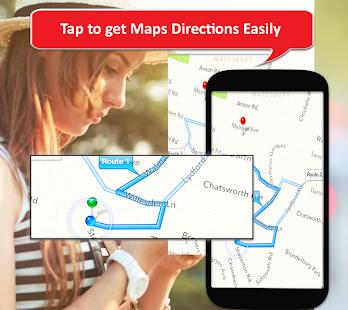 GPS Navigation 2021, Satellite Maps, Route Planner 1.0.5 Screenshots 2