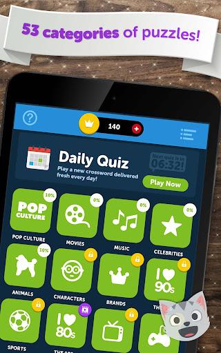 Crossword Quiz - Crossword Puzzle Word Game! 3.85g screenshots 11
