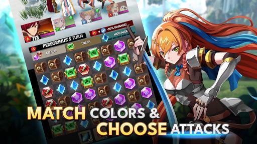 Starsteel Fantasy - Puzzle Combat  screenshots 2