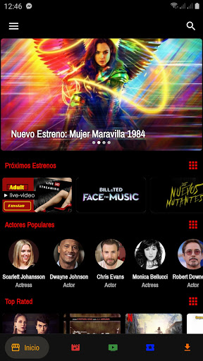 Foto do Slicke TV - Unlimited movies and Live TV app